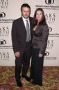Courteney cox arquette david arquette wife at the saks fifth avenue s unforgettable evening at the regent beverly wilshire hotel Stock Photo