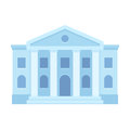 Courthouse building icon Royalty Free Stock Photo
