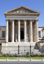 Courthouse of montpellier france languedoc roussillon Royalty Free Stock Photography