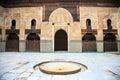 Courtyard of bou inania madrasa in fez
