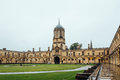 Courtyard in Christ Church College Royalty Free Stock Photo