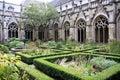 Courtyard of the Dom Church, Utrecht, Holland