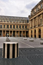 Courtyard of Palais Royale, Paris Royalty Free Stock Photos