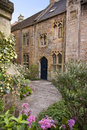 Courtyard in Wells, somerset Royalty Free Stock Photo