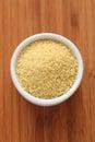 Couscous in a bowl