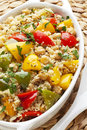 Couscous With Chickpeas And Pe...