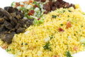 Couscous Farofa Photo stock