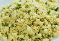 CousCous with parsley Royalty Free Stock Photo