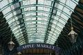 Covent Garden - Apple market Royalty Free Stock Photo