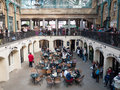 Covent garden market london uk view of famous on september in s pretty th century piazza is home to three bustling Stock Photography