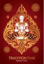 Cover tradition thai Buddha Jewelry Set