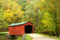 Covered Bridge Stock Images