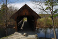 Covered bridge in New Hampshire Royalty Free Stock Photos