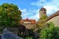 Covered Bridge in Rothenburg ob der Tauber