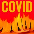 Covid 19 Coronavirus Header Colored Abstract