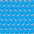 stock image of  Cow - emoji pattern 59