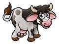 Cow Farm Animals Cartoon Character Royalty Free Stock Photo