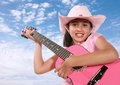 Cow-girl Photos stock