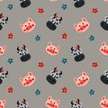 Cow and pig pattern