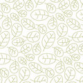 Cowberry leafs seamless pattern Royalty Free Stock Photography