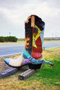 Cowboy boot Royalty Free Stock Photo