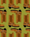 Cowboy boots pattern. Australian shoes background. Western cloth