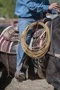 Cowboy detail Stock Photos