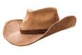 Cowboy hat closeup Royalty Free Stock Photo