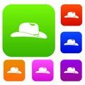 Cowboy hat set collection