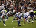 Cowboys and Giants with Tony Romo Royalty Free Stock Photo