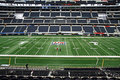 Cowboys Stadium Field Super Bowl Stock Photography