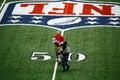 Cowboys Stadium Super Bowl Trophy Royalty Free Stock Photo