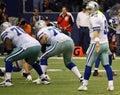 Cowboys Tony Romo Waits for Snap Royalty Free Stock Photo