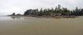 Cox Bay Beach Royalty Free Stock Photo