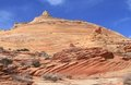 Coyote Buttes, Arizona: Sandstone butte Stock Images