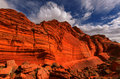 Coyote buttes of the vermillion cliffs wilderness area utah and arizona Stock Photos