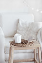 Cozy interior details Royalty Free Stock Photo