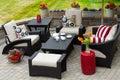 Cozy Patio Furniture On Luxury...