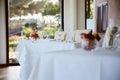 cozy restaurant interior Royalty Free Stock Photo