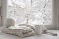 Cozy winter still life Royalty Free Stock Photo
