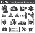 CPR ( Cardiopulmonary resuscitation ) icon