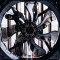 Cpu fan big advanced pc on white Royalty Free Stock Image