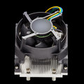CPU heatsink with fan Royalty Free Stock Photos