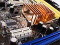 CPU Motherboard Royalty Free Stock Photo