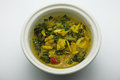 Crab stew crap curd dip simmer chili crab thai food cuisine Stock Photo