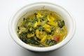 Crab stew crap curd dip simmer chili crab thai food cuisine Stock Photography