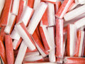 Crab sticks Stock Images