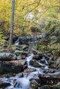 Crabtree Falls – Nelson County, Virginia, USA Royalty Free Stock Photo