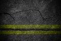 Crack asphalt Road Texture.