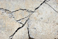 Crack concrete Royalty Free Stock Photography